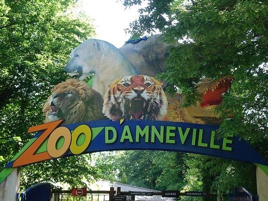 Zoo d'amnéville en été