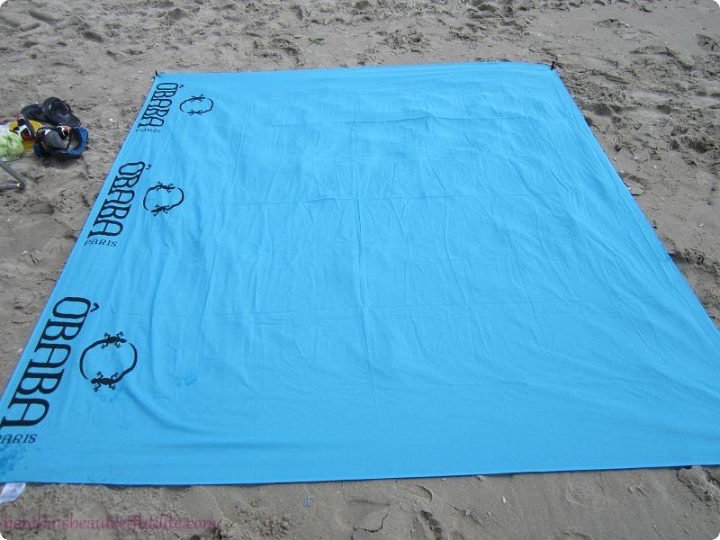Drap de plage XXL