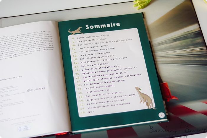Sommaire - Dinosaures