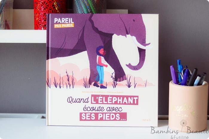 Quand l'elephant ecoute avec ses pieds