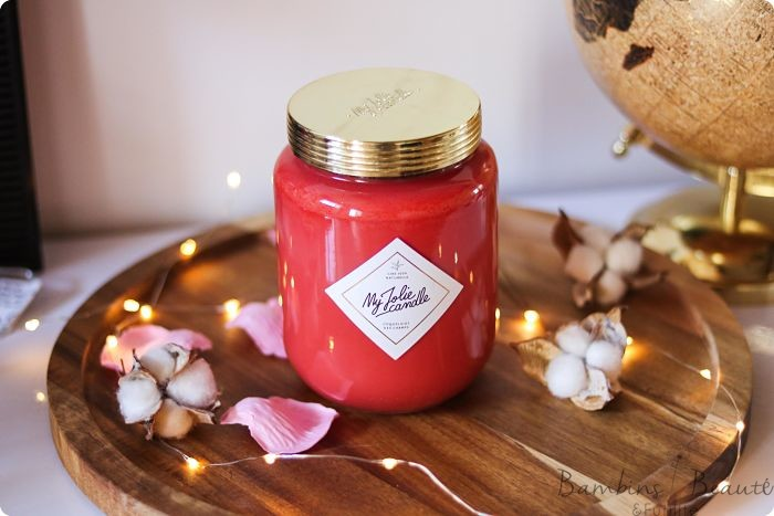 My Jolie Candle - Coquelicot