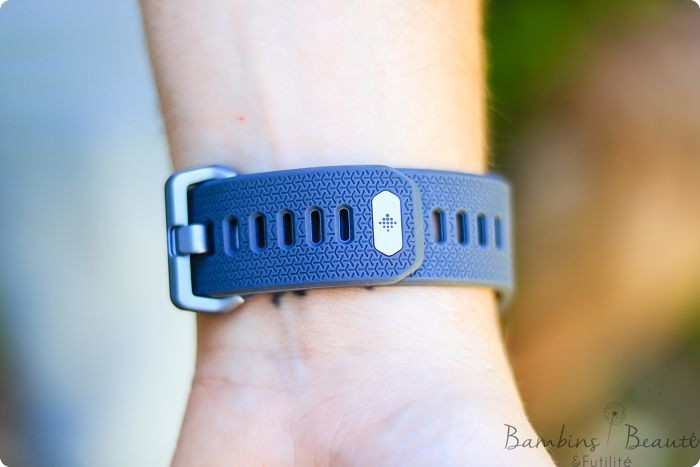 Bracelet gris Fitbit Ionic