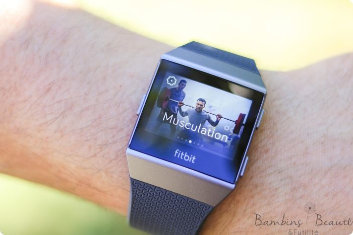 Fitbit Musculation