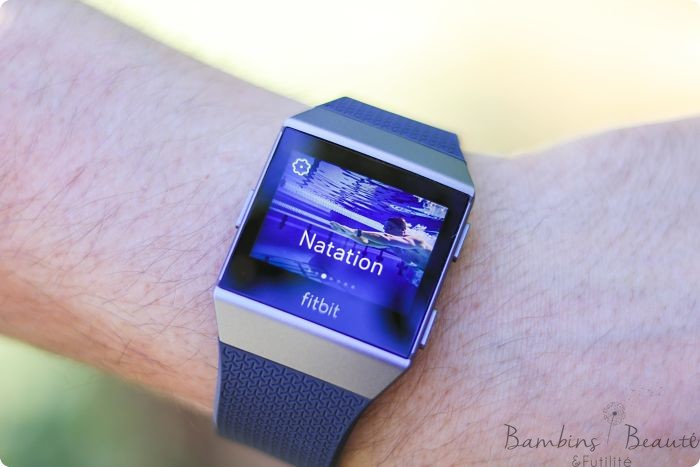 Fitbit Natation