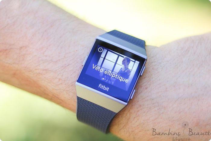 Fitbit Velo Elliptique