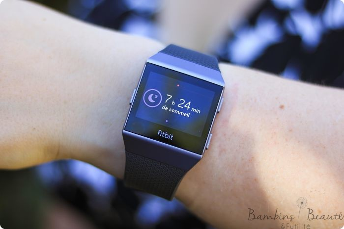Sommeil Fitbit Ionic