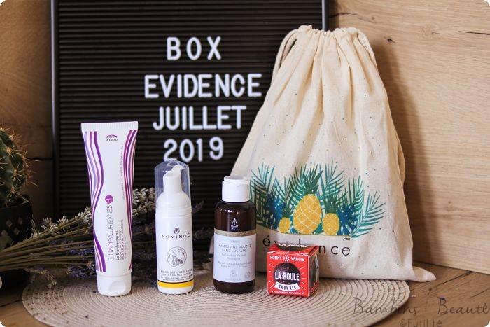 Box Beauté Bio Évidence