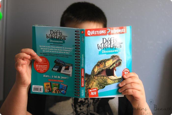 Défis Nature Dinosaures Questions Réponses
