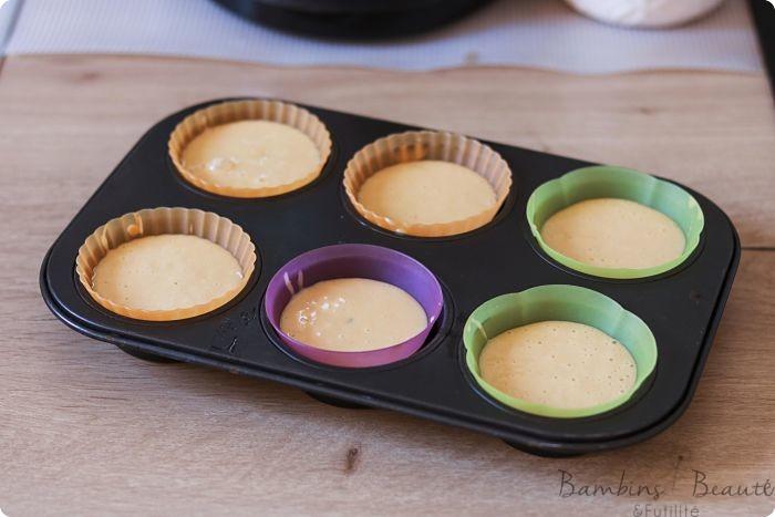 pâtes à muffins