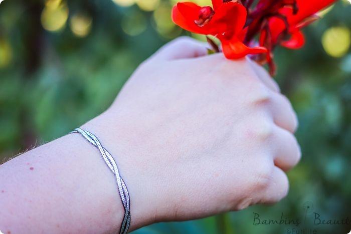 Bracelet Argent multicolore
