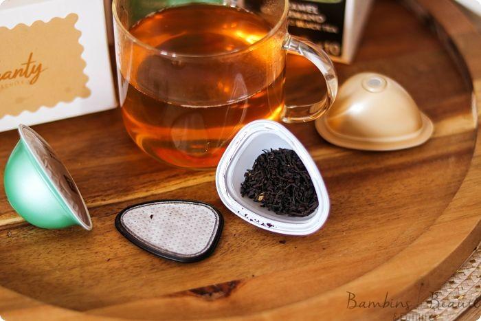 Feuilles de thés