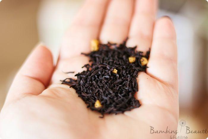 Feuilles de thé Caramel Gourmand