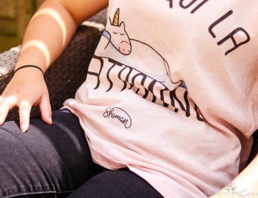 Fabuleux Shaman t-shirt en coton bio