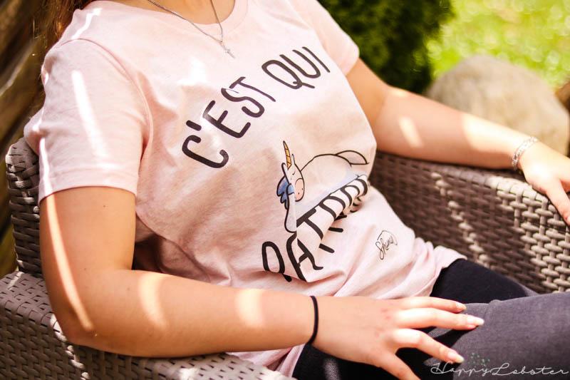 T-shirt femme en coton bio Fabuleux Shaman