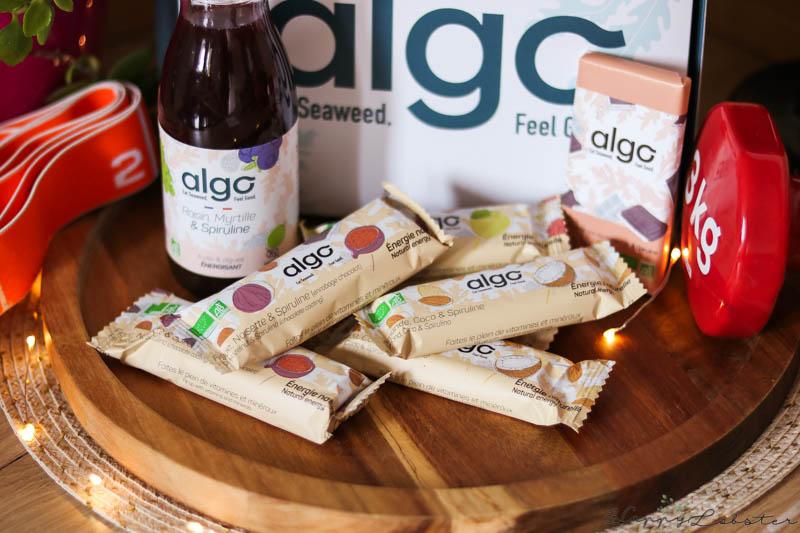 Barre énergétique bio Algo
