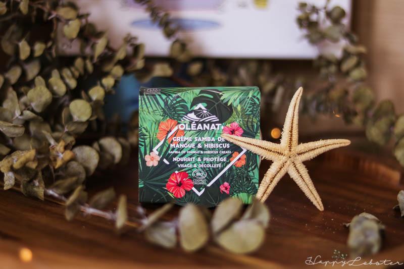 Crème Samba de mangue et hibiscus Oléanat