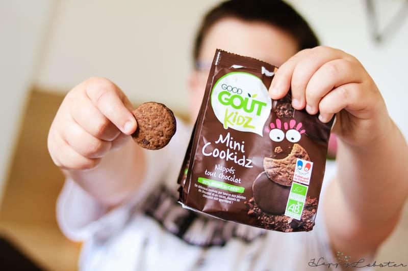Mini Cookidz chocolat bio