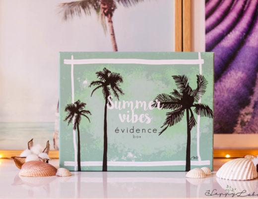 Box Évidence d'août 2020 - Summer Vibes