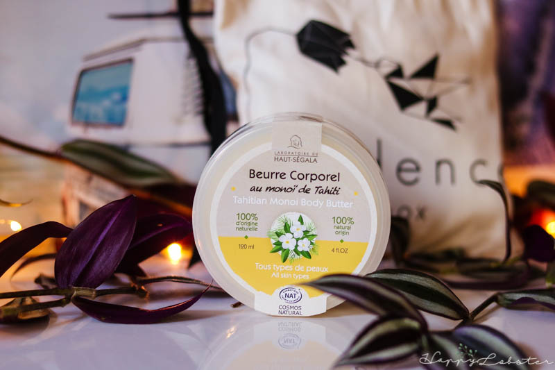 Beurre corporel au monoï - Box Évidence bio de septembre