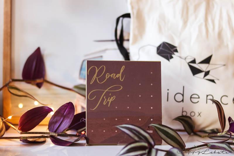 Palette Road trip Box Évidence bio de septembre