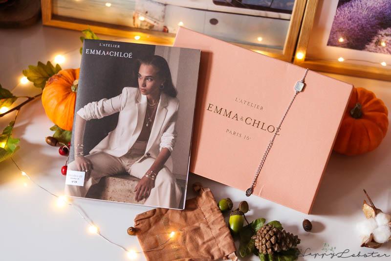 Box bijoux octobre Emma & Chloé