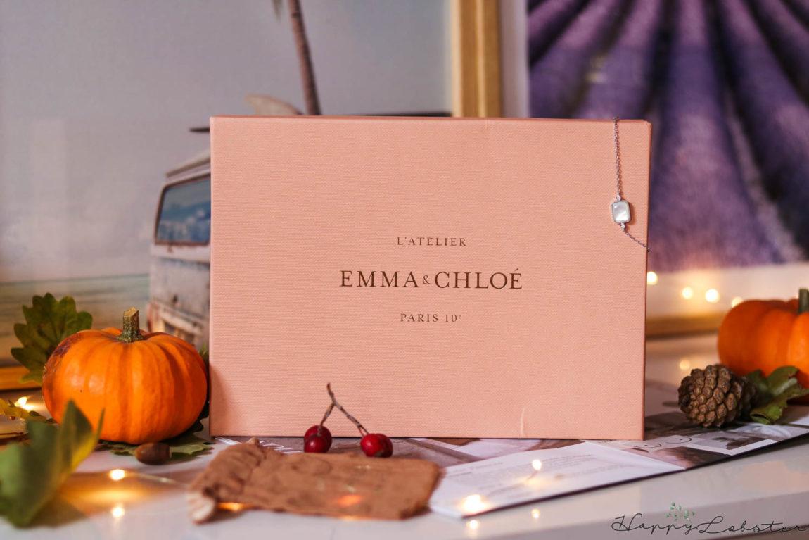 Box bijoux Emma & Chloé octobre 2020