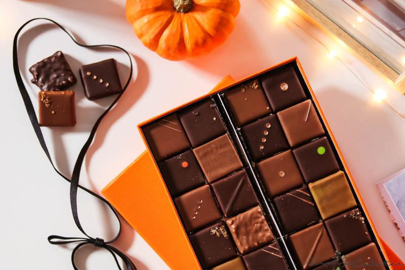 Assortiment chocolat noir et lait