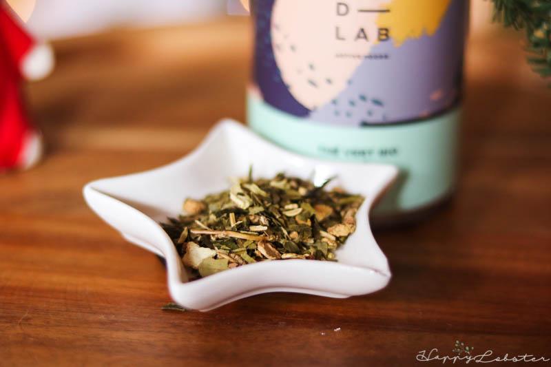 Aspect du thé vert bio D-LAB