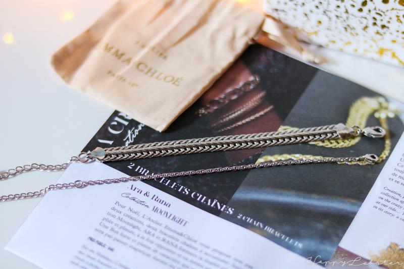 Bracelets chaînes - Box bijou de décembre 2020