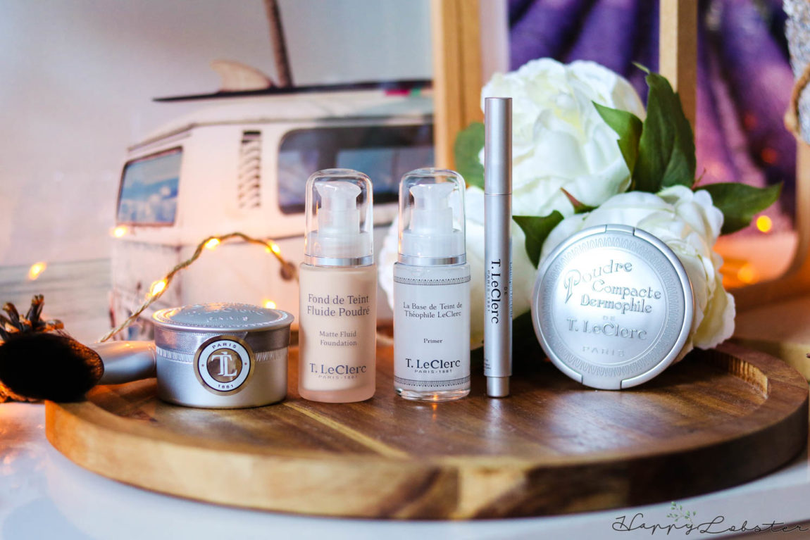 Routine maquillage T.LeClerc