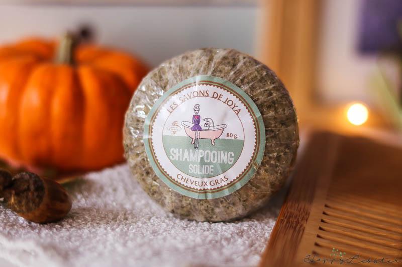 Les Savons de Joya : shampoing cheveux gras