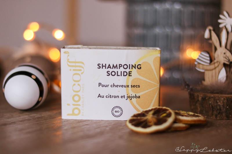 Shampoing solide Biocoiff pour cheveux secs