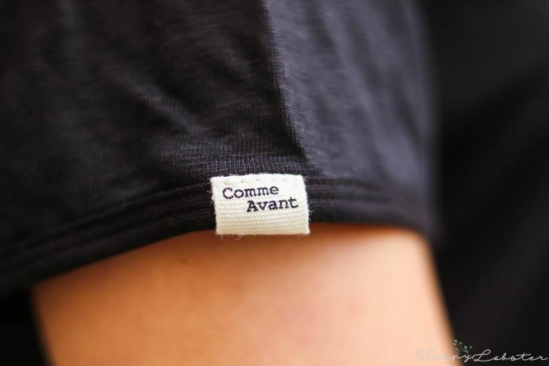 Étiquette Comme Avant